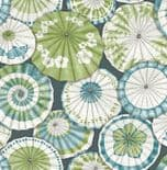 Mistral East West StyleWallpaper Mikado 2764-24360 By A Street Prints For Brewster Fine Decor
