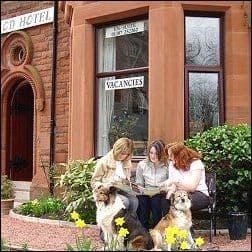 dog friendly Ferintosh Guest House Dumfries Scotland