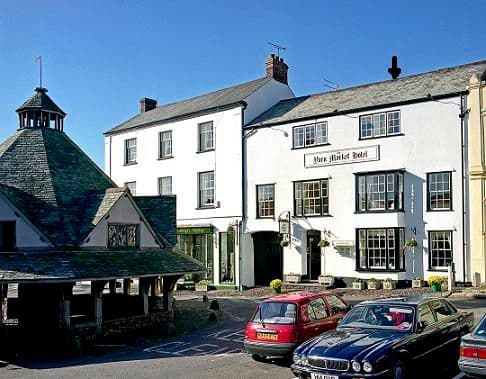 The Yarn Market Dogs-welcome Hotel Dunster Somerset