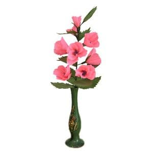 Chinese Pink Lisianthus misty bouquet, (DD051)