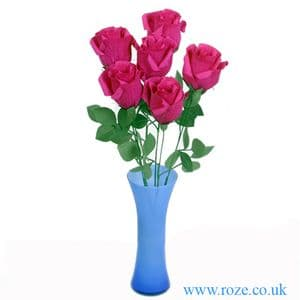 Chinese red rose bouquet, (DD003)