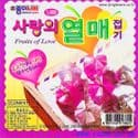 Fruits of Love, 3.4 inch (8.5 cm) square, 30 sheets, (ok218)