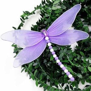 Handmade nylon product Set of materials, Dragonfly, 11cm x 11cm, 3 Dragonfly, [XS078]