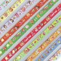 Lucky stars, Assorted colours, 1cm x 24.5cm, 80 sheets, (CH262)