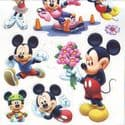 Mickey mouse window stickers (JDC202)