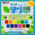 Negative ion well-being singleside, 6 inch (15cm) square, 16 sheets, (ok313)