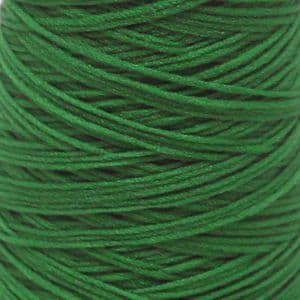Nylon thread for Mesh flowers, Nylon, Dark green, 1500m, 1 Spools of thread, (SSQ0013)