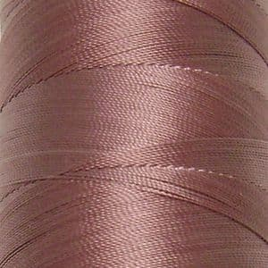 Polyester embroidery thread, brown, approximately 1500m, (FYX0059)