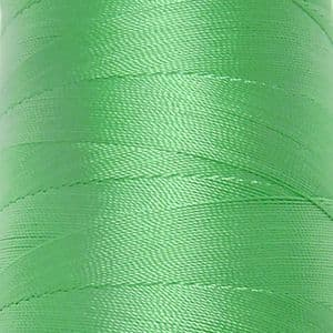 Polyester embroidery thread, green, approximately 1500m, (FYX0055)