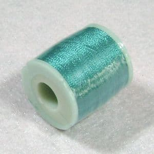 Rayon threads, blue green, approximately 200m, (CGX056)