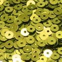Sequins, Olive-Green, Diameter 4mm, 1680 pieces, 8g, Disc shape, Sequins are shiny, [CZP315]