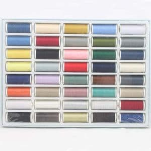 Sewing craft set, Polyester and Cotton, Assorted colours, (TZH0003)