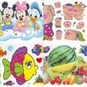 Window stickers Sets, 10 sheets, [001JDC0223]