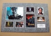 Sala Baker Signed Lord Of The Rings Autograph Phto Display Set #2