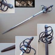 16th &17th Century English Rapier - Stage Sword