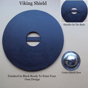 61cm Viking Shield - Ready For Painting