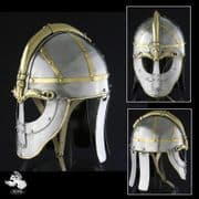 8th Century Valsgarde Helmet #5 - 14 Gauge