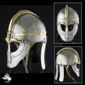 8th Century Valsgarde Helmet #5 - 14 Gauge