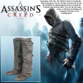 Altair Boots - Assassins Creed Footwear