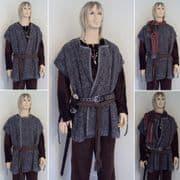 Black & Grey Wool Jerkin