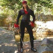 Black Orchid Pirate Ladies Jacket