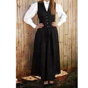 Black Western Skirt