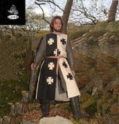 Black & White Crusader Surcoat