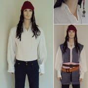 Capt. Jack Sparrows Authentic Pirate Shirt