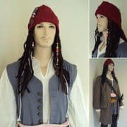 Capt. Jack Sparrows Complete Wig Set
