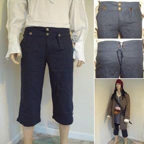 Capt. Jack Sparrows Pirate Pants / Trousers