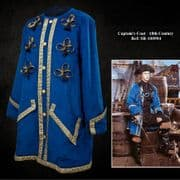 Captains Coat - 18th Century - Blue / Green / Red