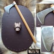 Celtic Knot Battle Axe