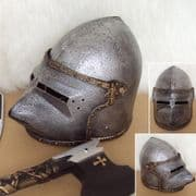 Childrens Medieval Knight Play Helmet