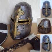 Childrens Medieval Knights Play Helmet