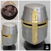 Crusader/Great Helmet - 16 Gauge