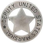 Deputy U.S. Marshall Badge