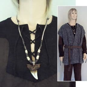 Dinosaur Tooth Necklace