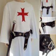 Double Adjustable Medieval Sword Belt