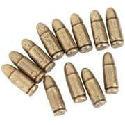 Dummy MP-40 Bullet - Brass Finish