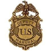 Eagle Deputy Marshall Badge