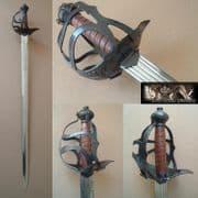 English Mortuary Hilt Sword
