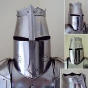 Hand Crafted Traditional English Knights Tournament Helmet