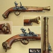 Italian 18th Century Flintlock Blunderbuss - Brass