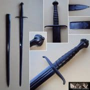 Italian Bastard Sword & Scabbard