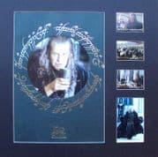 JOHN NOBLE Signed Lord Of The Rings Photo Display Set - King Denethor