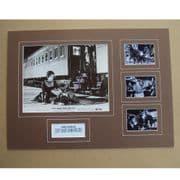Kirk Douglas Signed & Mounted MOVIE Set - Last Train from Gun Hill
