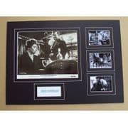 Kirk Douglas Signed & Mounted Photo Set  Last Train from Gun Hill
