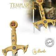 Knights Templar Sword - GOLD