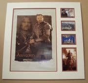 Liv Tyler and Viggo Mortensen Signed Lord Of The Rings Lythograph Display Set - Awen