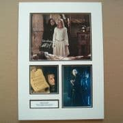 Lord Of The Rings Signed Movie Photo SET -  Brad Dourif WORMTOUNGE